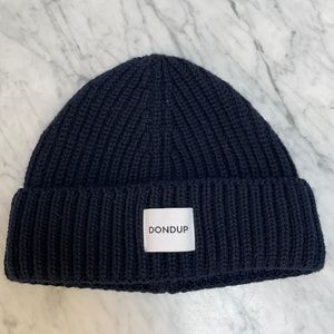 Dondup Fisherman Beanie, Made in Italy, NWT